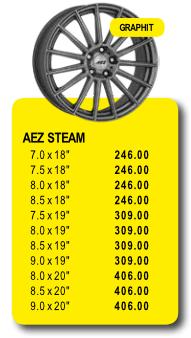 AEZ STEAM - Alufelgen/Jantes