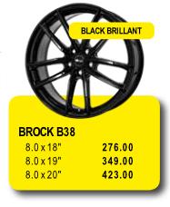 BROCK B38 - Alufelgen/Jantes