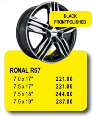 RONAL R57 - Alufelgen/Jantes