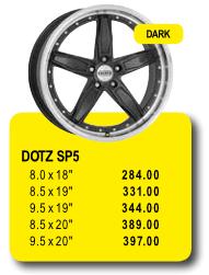 DOTZ SP5 - Alufelgen/Jantes