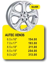 AUTEC XENOS - Alufelgen/Jantes