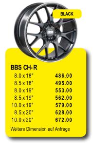 BBS CH-R - Alufelgen/Jantes