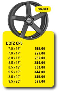 DOTZ CP5 - Alufelgen/Jantes