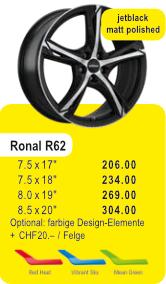 Alufelge RONAL R62