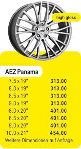 Alufelge AEZ PANAMA