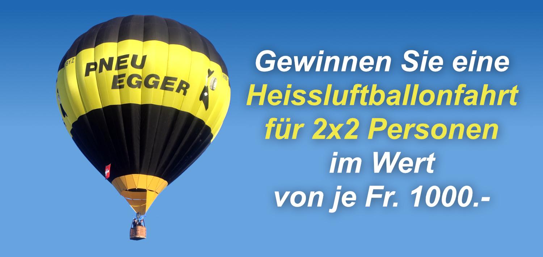 Winter-Wettbewerb: Heissluftballon
