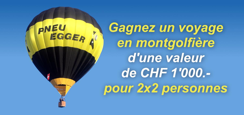 Concours d´été : voyage en montgolfière