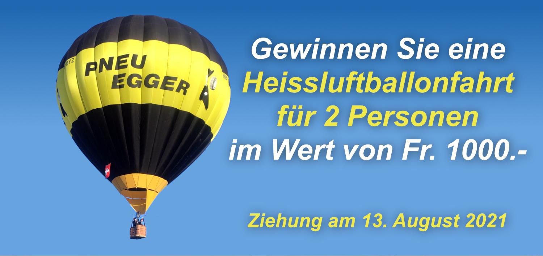 Wettbewerb: Heissluftballon